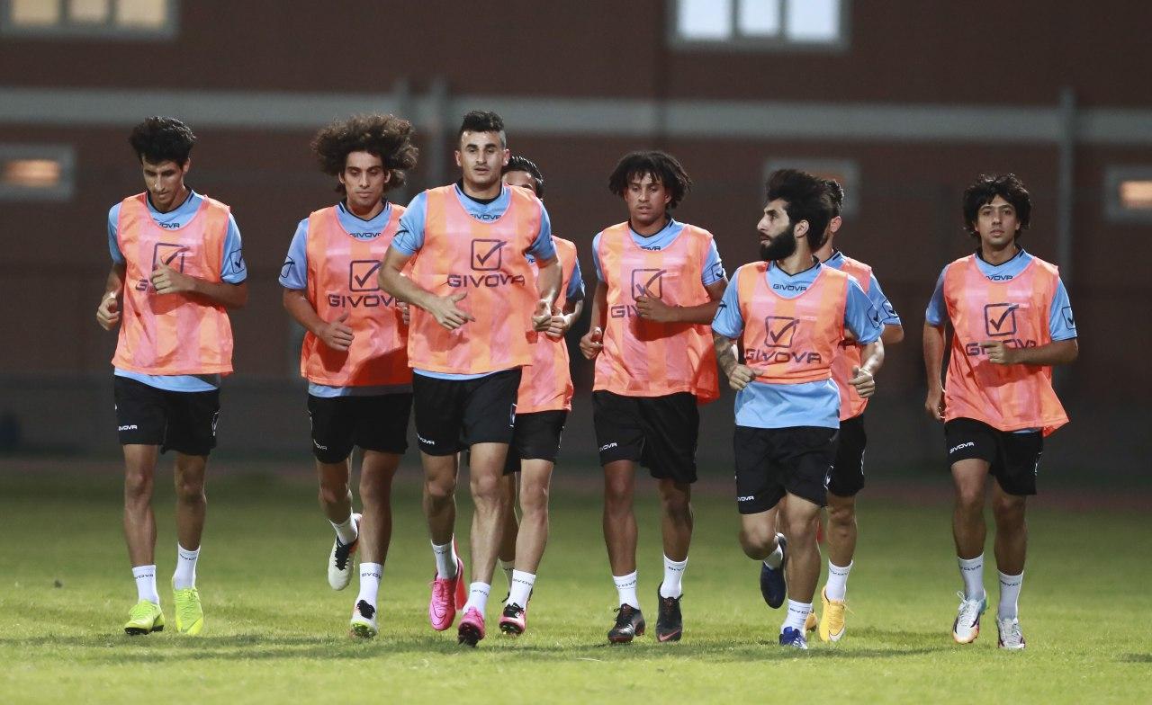 المنتخب العراقي يستعد لملاقاة المنتخب السوري في قمة مباريات غرب اسيا
