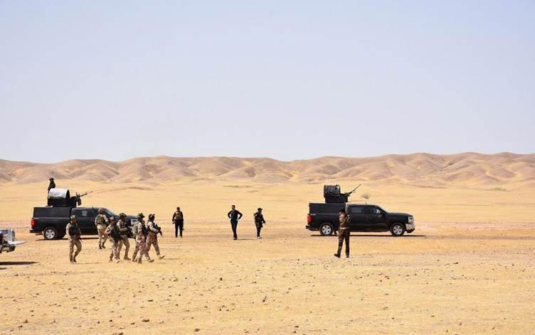 انطلاق عملية أمنية واسعة في صحراء الأنبار