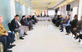 ندوة عن التعليم الالكتروني للمدارس في نادي الاخاء التركماني