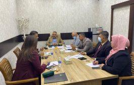 معهد التطوير النيابي يبحث اقامة نشاطات تدريبية مع مؤسسة ارشاد للتحكيم